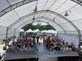 本局5月8日於國立科學工藝博物館,舉辦110年水土保持月啟動記者會暨博覽活動,宣示今年水土保持月各項教育宣導活動的開始,期望透過跨領域合作推動教育的方式,讓水土保持理念向下扎根。 本分局前往現場展出「微水力發電應用於智慧防災與科技實踐」,利用微水力或太陽能提供山坡地智慧防災工具的電力,解決長期以來坡地安全監測智慧防災電力不易取得的問題,以便宜、乾淨的電力,提升坡地防災能力,守護居民生命財產安全。