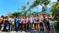 南投分局推自製「北歐健走杖」來一場「農村不倒翁」的友善小旅行(共5張)